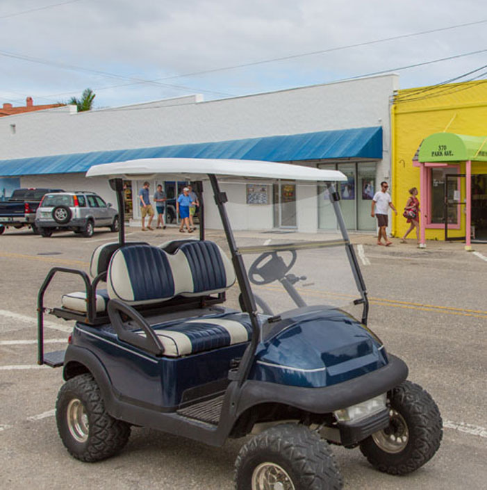 Golf Carts and  Bicycles 1